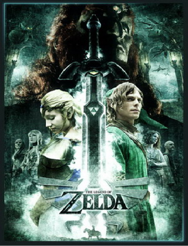 Zelda Movie Poster by XxKNlGHTMARExX