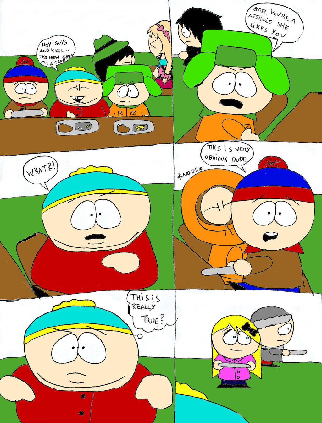 Kenny Writes A Letter South Park