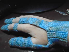 Crochet Gloves for Crocheting by Safyer