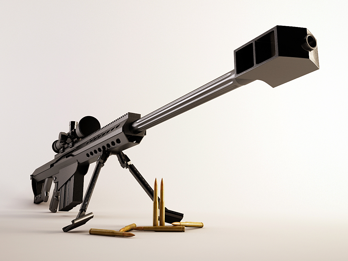 50 Caliber Sniper Rifle By Rribot D4vvq6j