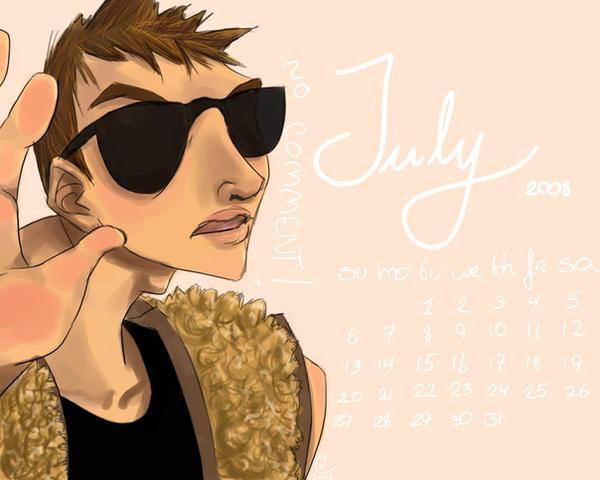 Calender: July by LovinEvil