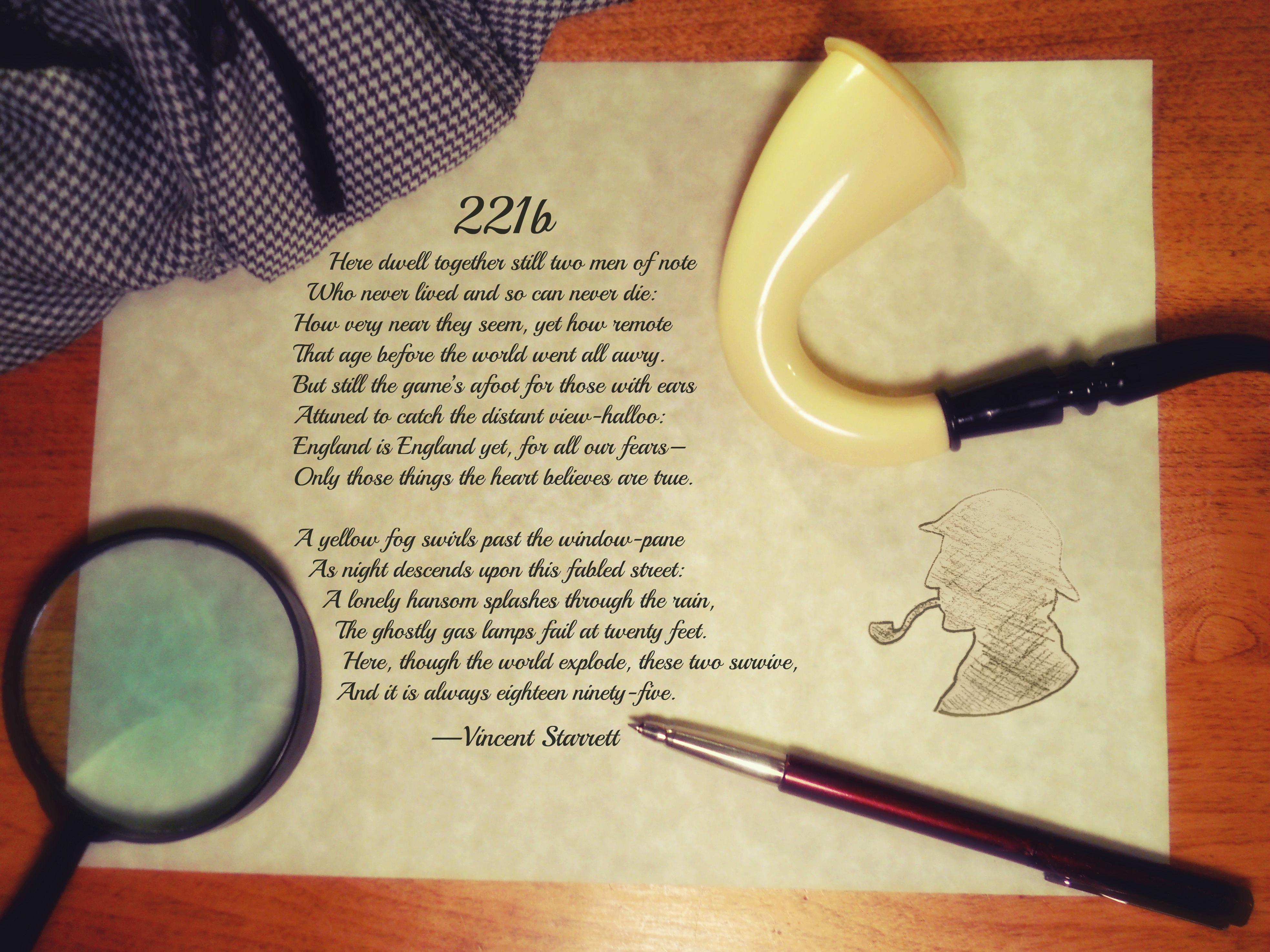 Sherlock Holmes Desk By Cjnwriter On DeviantArt