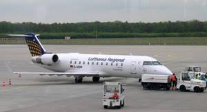 Lufthansa CRJ-200LR at Cologne-Bonn