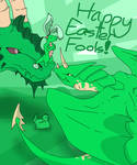 Happy Easter Fools Day! :P by ThatDragonGal
