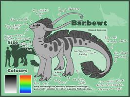 Barbewt Species Ref CLOSED SPECIES by AbwettarAdopt