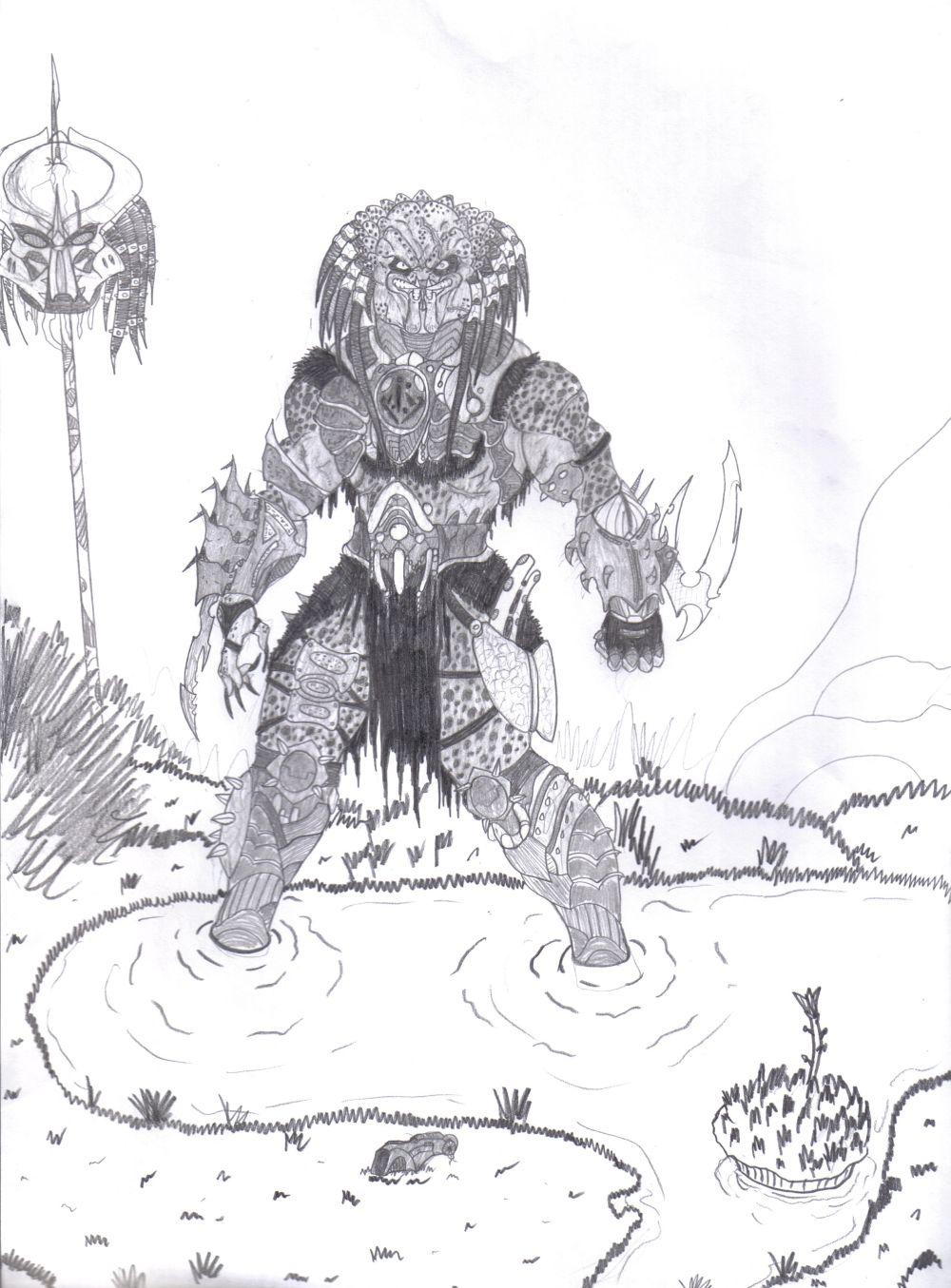 Bad Blood Predator by Bender18 on DeviantArt