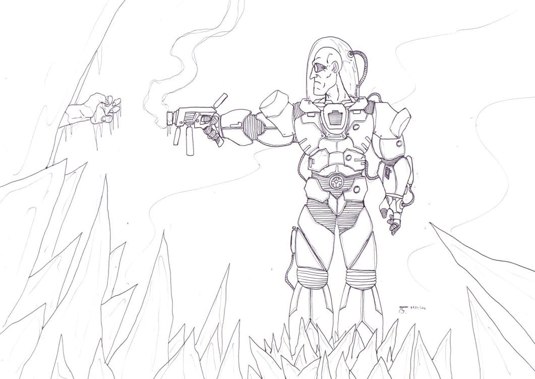 Lego Mr Freeze Coloring Pages Sketch Coloring Page Mr Freeze Coloring Pages