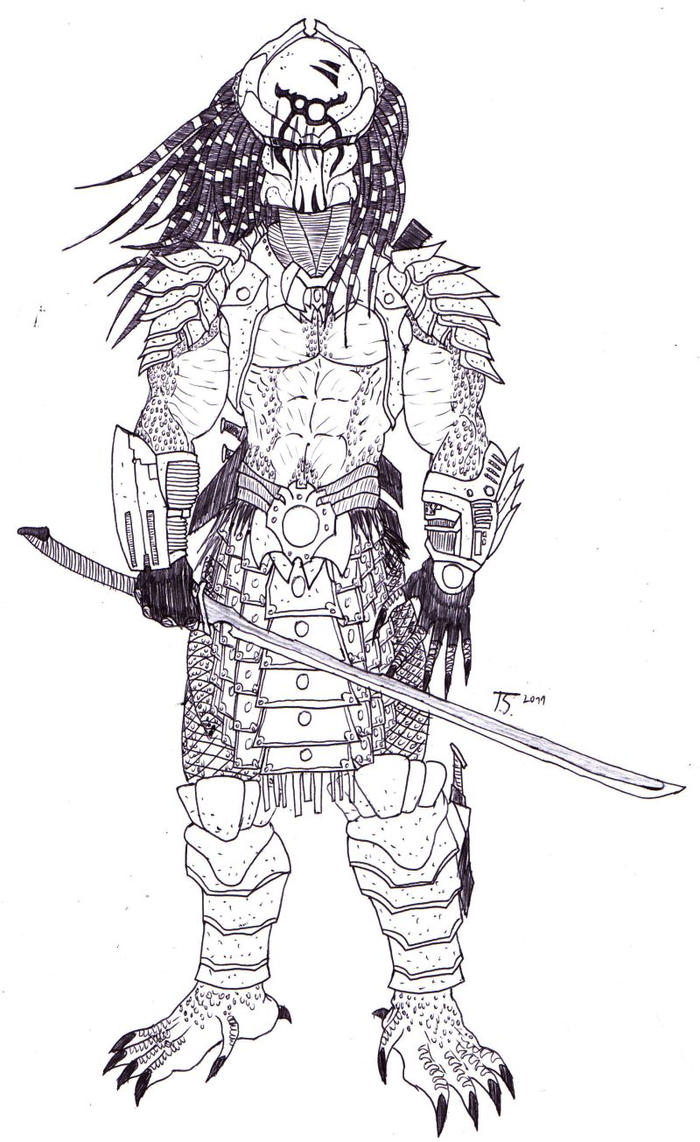 predator coloring pages - photo#25