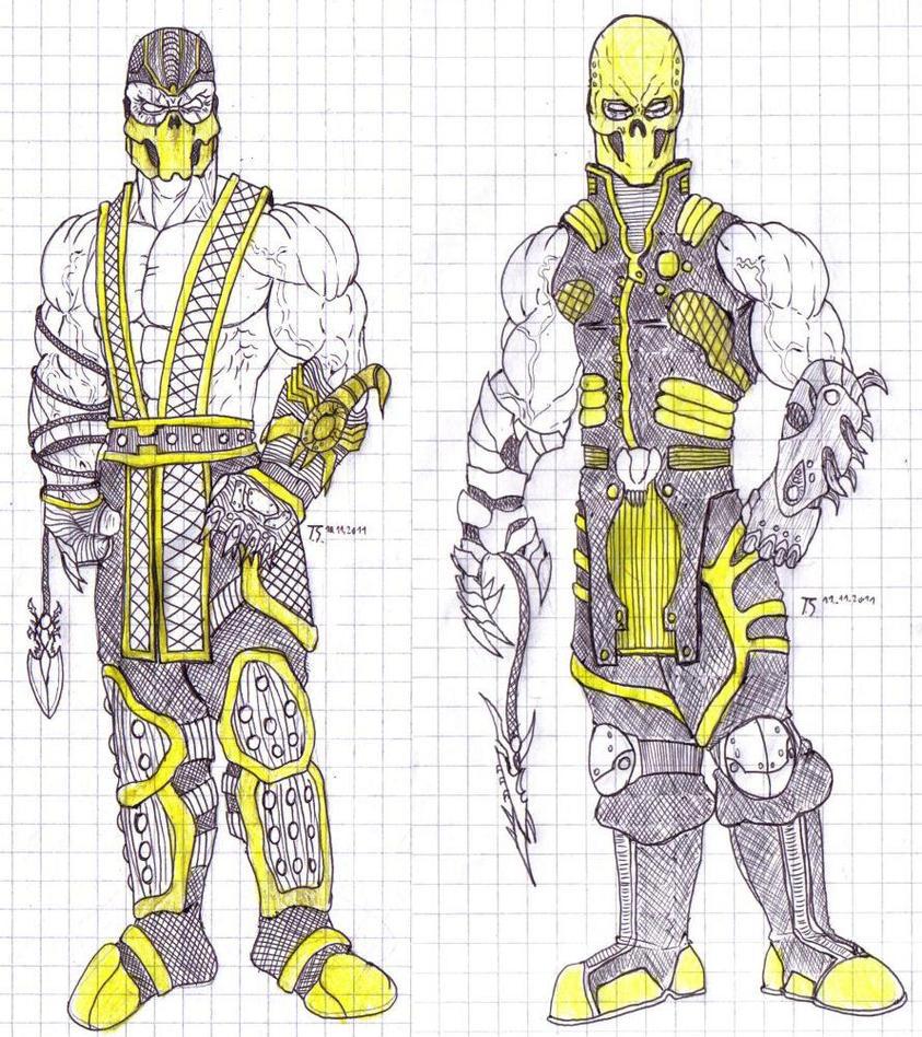Scorpion Mortal Kombat  Wikipedia