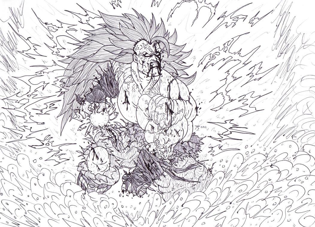 Goku Super Saiyan 3 Ultimate Power by Bender18 ...