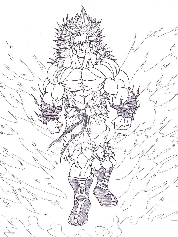 super saiyan god coloring pages - photo#41