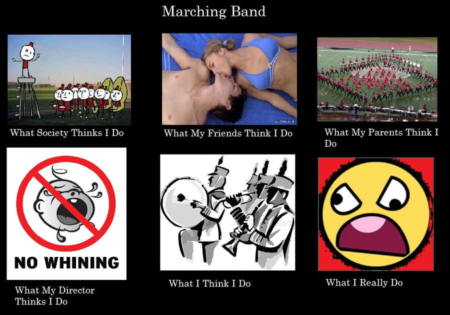 Marching Band Flute Marching Band in a Nutshell by