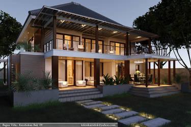 2n mood - Bagus Villa, Bali by teknikarsitek