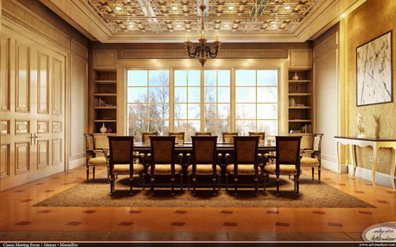 Classic Meeting Room - Mentalray