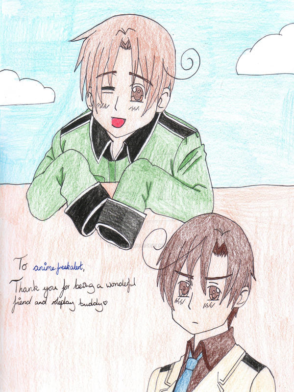 Gift for animefreekalert by SwiftNinja91