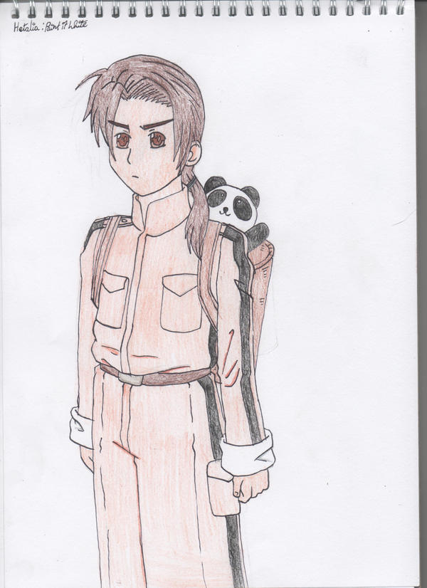 Hetalia : Paint it White - China by SwiftNinja91