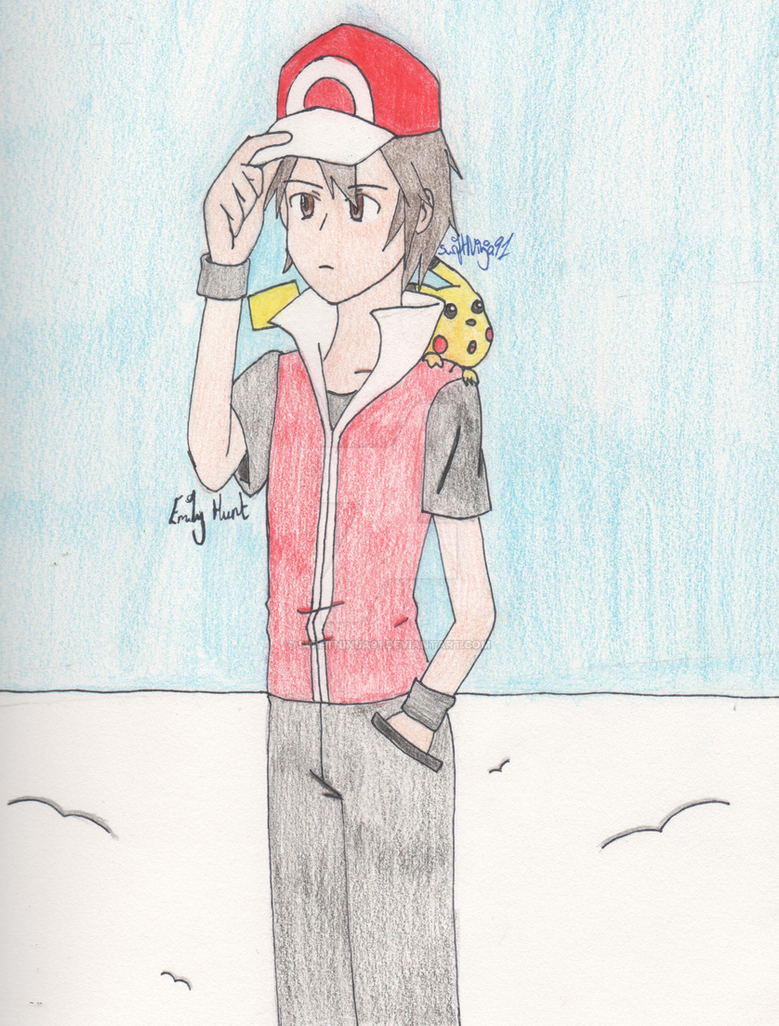 Pokemon - Legendary Trainer atop Mt Silver by SwiftNinja91