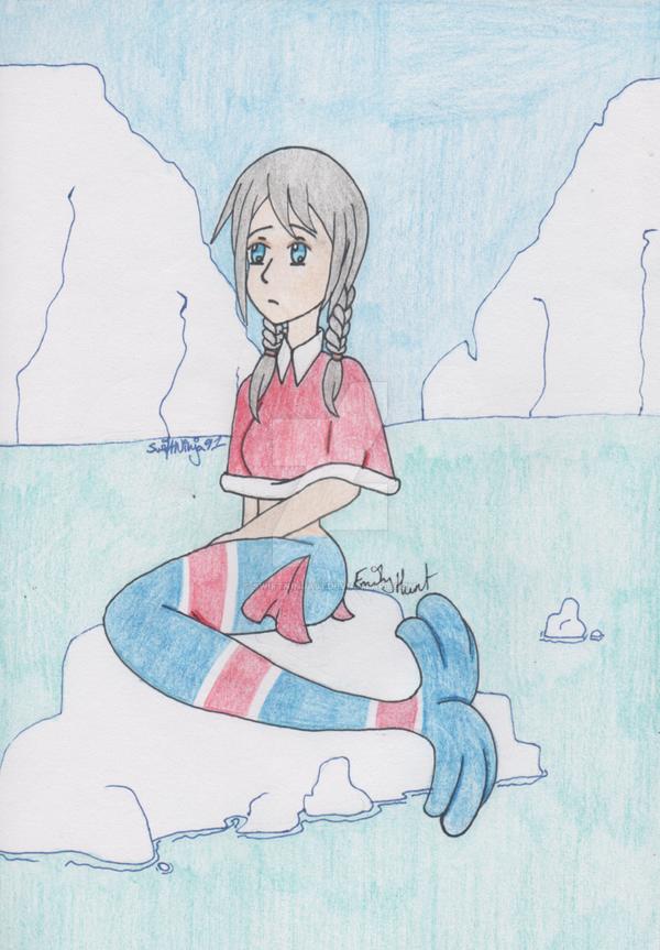 Nyo!APH - Siren of the Frozen Seas by SwiftNinja91
