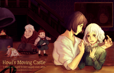 Howl's Moving Castle: Happily Ever After (+Speedpt