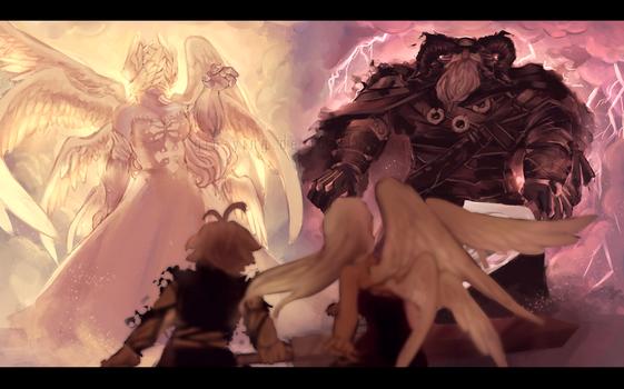 Seven Deadly Sins: Against the Gods (+Speedpaint)