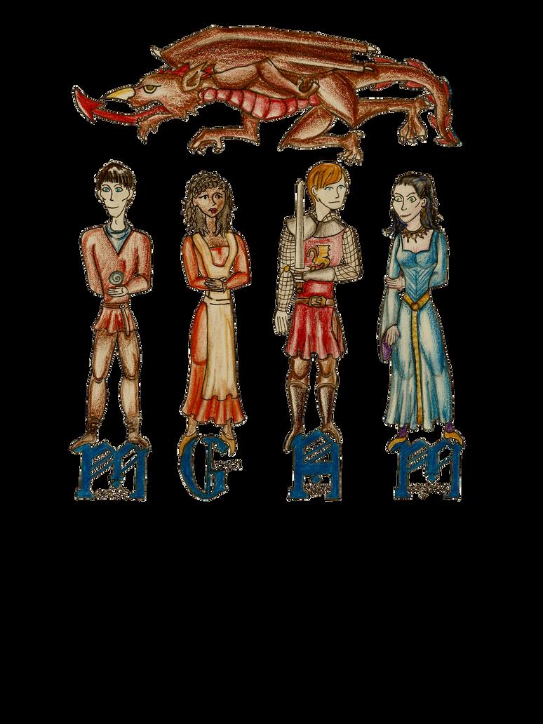 Medieval Merlin by zuzuKH