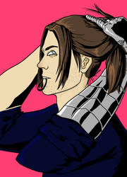 'ponytails Are Dumb' Bucky Barnes Probably Colored