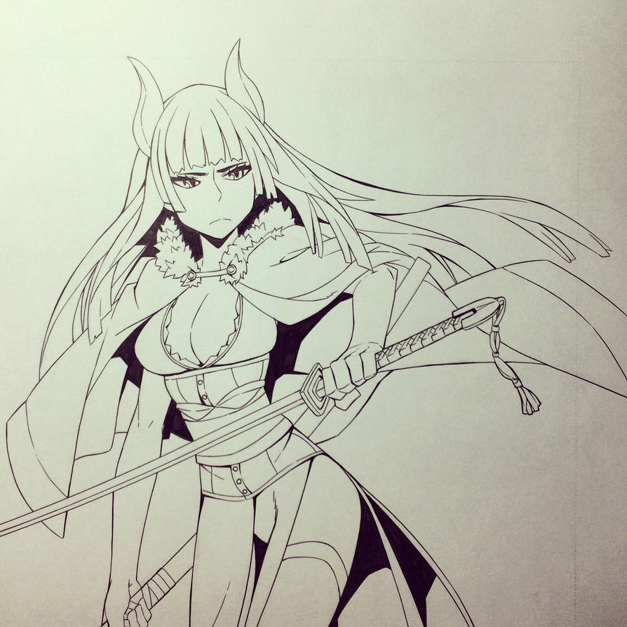 Demi warrior  by matchang