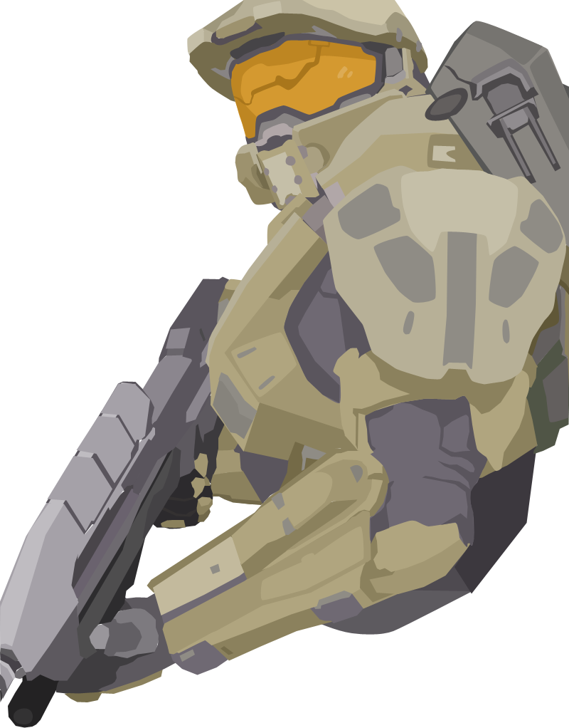 Halo 4: Master Chief Vector by iProtiige