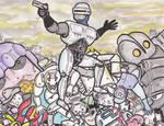 BA - Robocop by cheesebugs