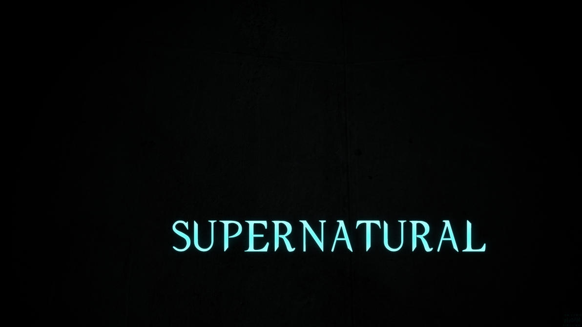 Supernatural season 1 title card by razualx on deviantart - Supernatural season 8 title card ...