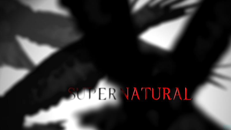 supernatural season 4 title card by razualx on deviantart