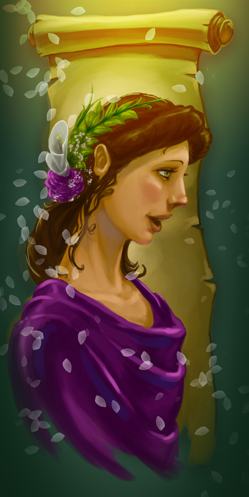 Clio - Muse of History by thermalknight on DeviantArt