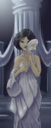 Melpomene - Muse of Tragedy by thermalknight