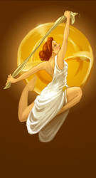 Terpsichore - Muse of Dancing by thermalknight