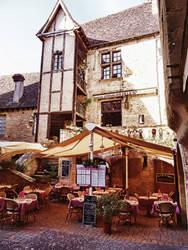 Sarlat cafe France