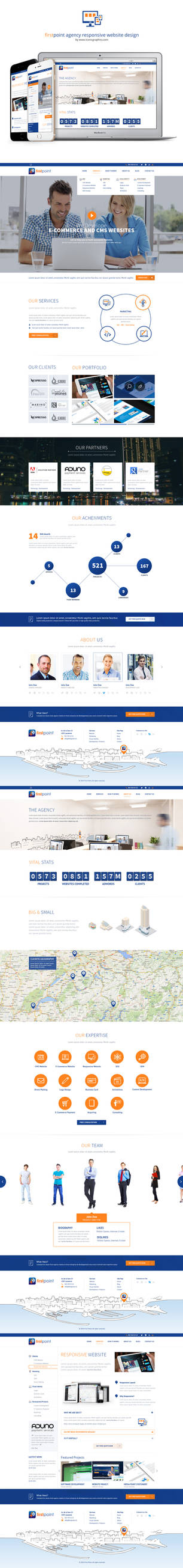 Firstpoint Agency Responsive Website Design