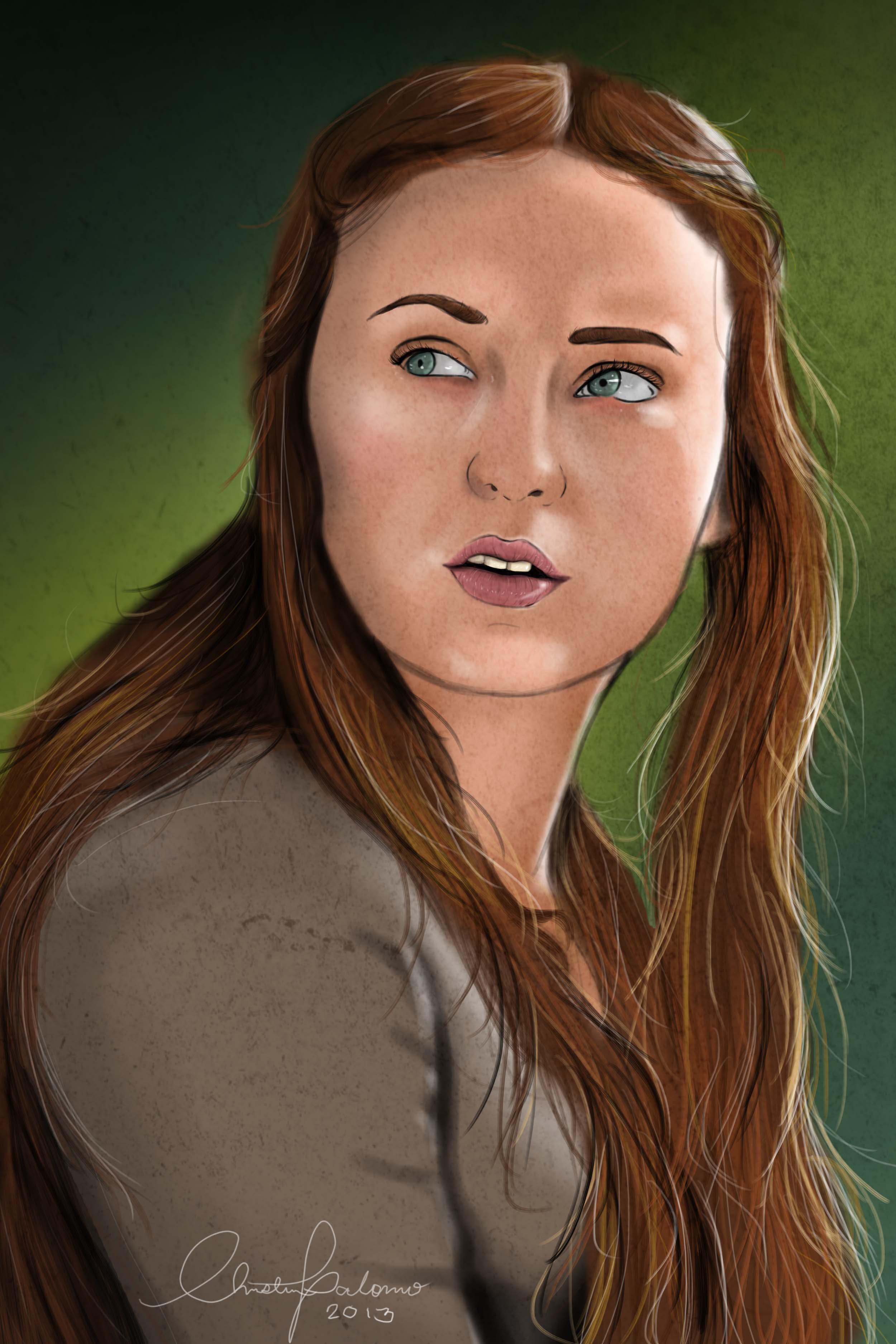 Game Of Thrones Sansa Stark Portraits Wallpaper | Apps Directories