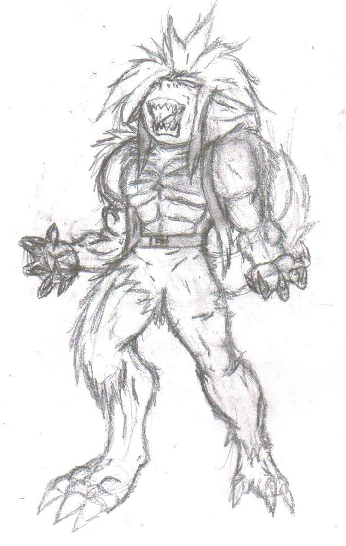 Werewolf Anime Transformation Werewolf Anime Transformation