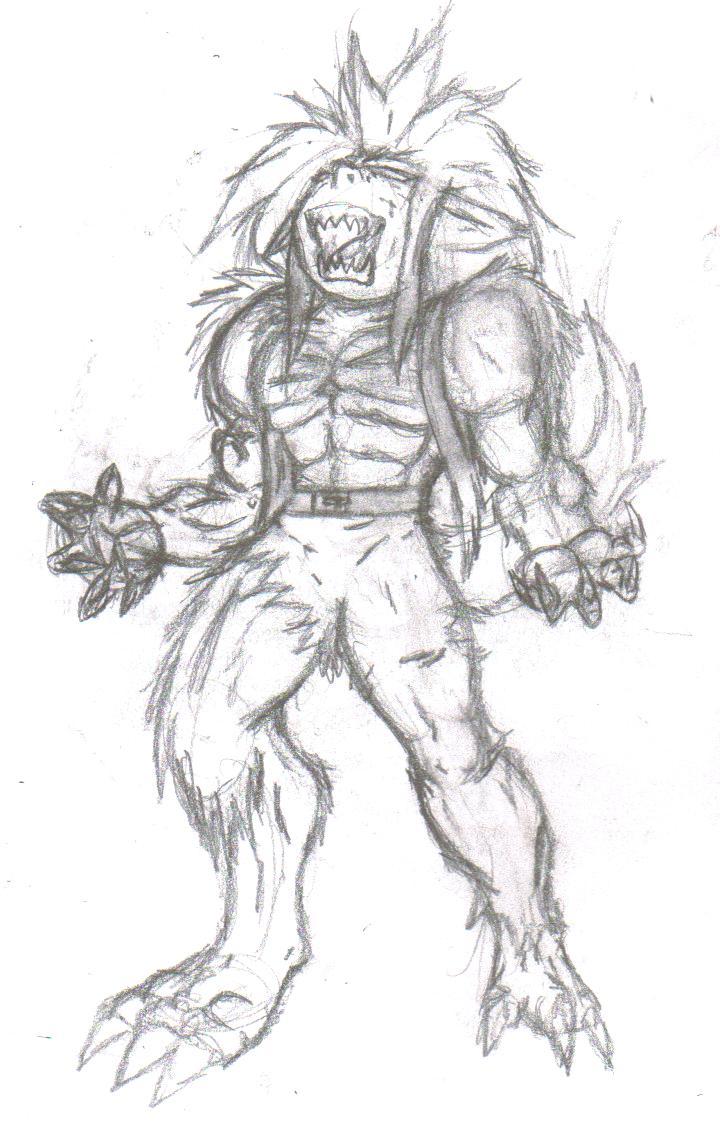 Werewolf transformation by OusamaUrufu on DeviantArt