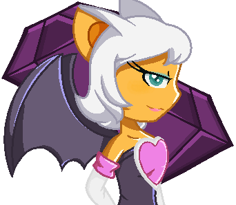 Rouge The Bat Human by Jasmine23gril
