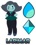*SPOILERS* Steven Universe - Larimar (Fan fusion) by Myhuuse123