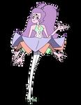 [OC Fusion] - Steven Universe - Mystic Aura Quartz by Myhuuse123