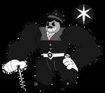 [OC] Black Star Diopside - Steven Universe by Myhuuse123