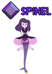 [OC] Spinel - Steven Universe by Myhuuse123