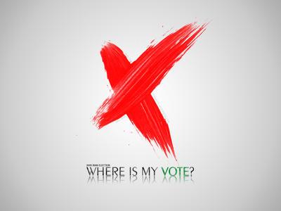 Where Is My Vote by sinajigul