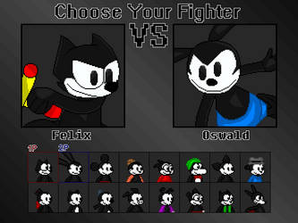 Classic Cartoon Choose your Fighter by CrowSar