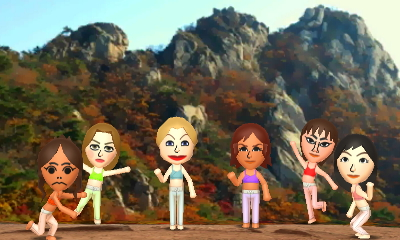 female miis are wearing yoga by yungdeez