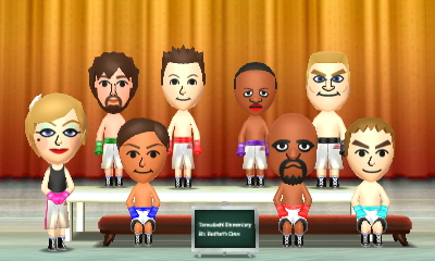 my miis are wearing boxing by yungdeez