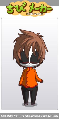 DIGITAL DESIGN: Chibi Masky T-Shirt Design by InvaderIka on DeviantArt