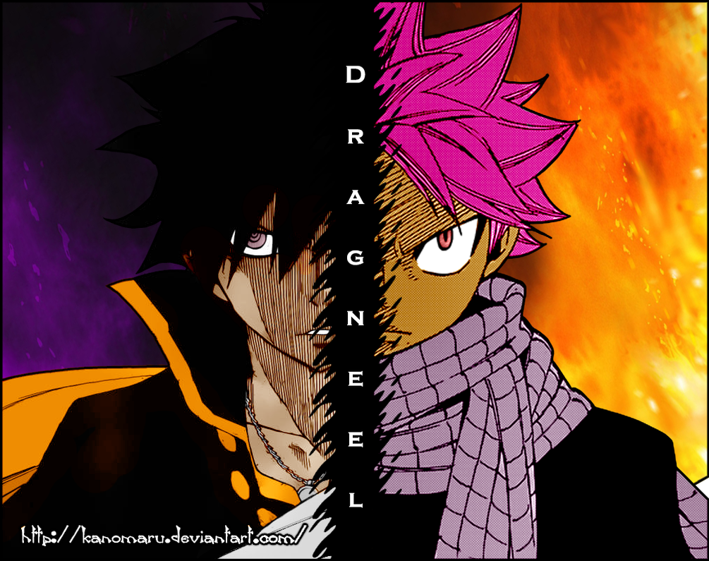 Dragneel Brothers by Kanomaru